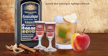 Blog » Aromatic Apple - Cocktail Rezept