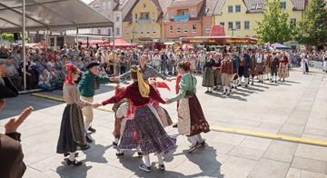 Thüringer Originale beim Deutschen Trachtenfest