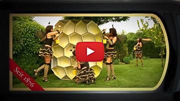 Selbst Bienen fleißig an den Waben, Würden an Aro gern sich laben