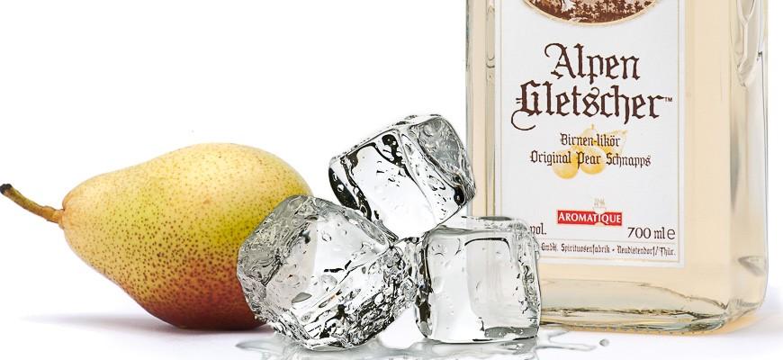 Alpengletscher, 41 % vol. Pear liqueur ...