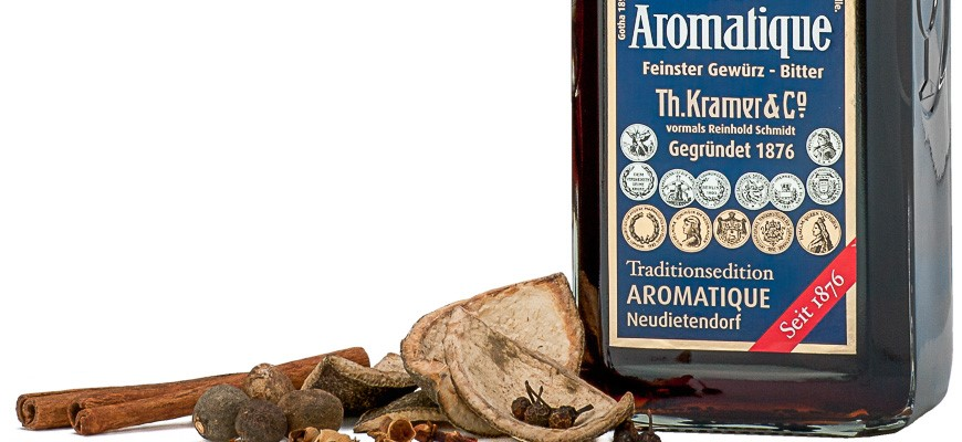 Aromatique, 40% vol. Experience and a long tradition ...