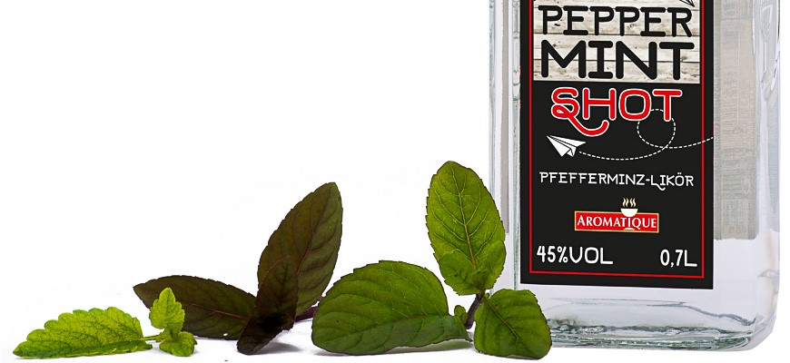 Peppermint Shooter 45% vol. Pure mint freshness ...